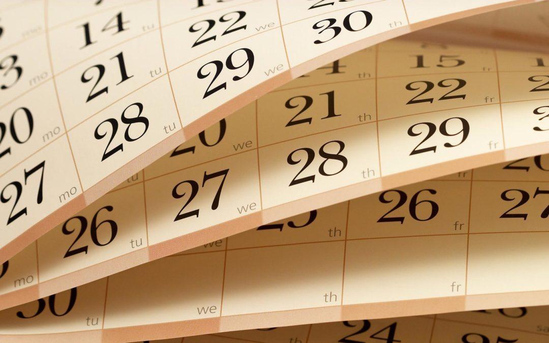 Calendários 2019! Está na hora de fazer o da sua empresa